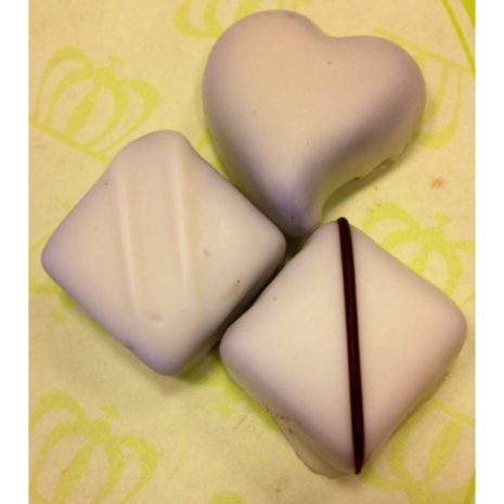 Witte chocolade bonbons